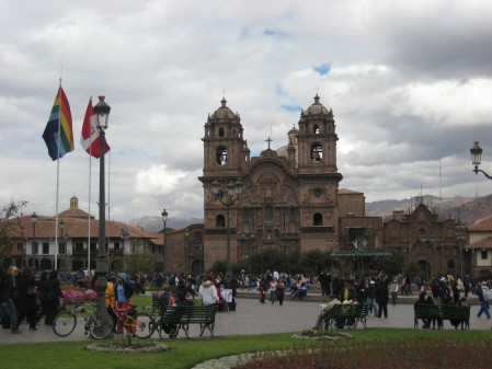 Plaza de Armas, the main square for Cusco