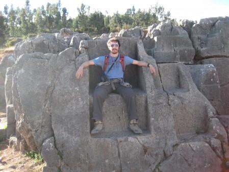 Me as an Inca king
