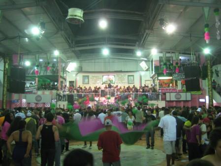 Carnaval rehearsal