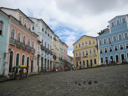 Largo Do Pelourinho. Slaves were auctioned here